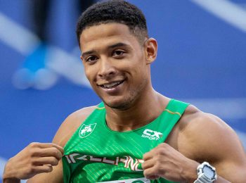Leon Reid: Irish sprinter training with Van Niekerk in build-up to Olympics