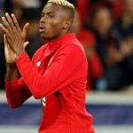 Osimhen arrives Naples for talks with Napoli