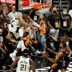 Bucks beat Suns to move one win from end of 50-year NBA drought