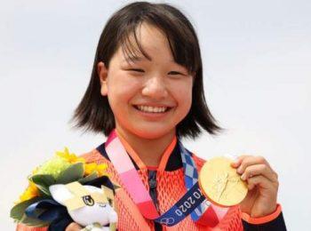 Tokyo Olympics: Momiji Nishiya wins skateboarding gold at just 13