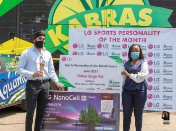 Onkar Rai bags LG Sports Personality of the month of June