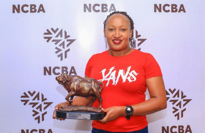 Irene Kimeu Wins Railways Leg of NCBA Golf Series